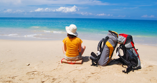 Backpacking in Thailand is safe but travellers must use common sense
