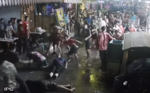The attack on a British grandmother in Hua Hin