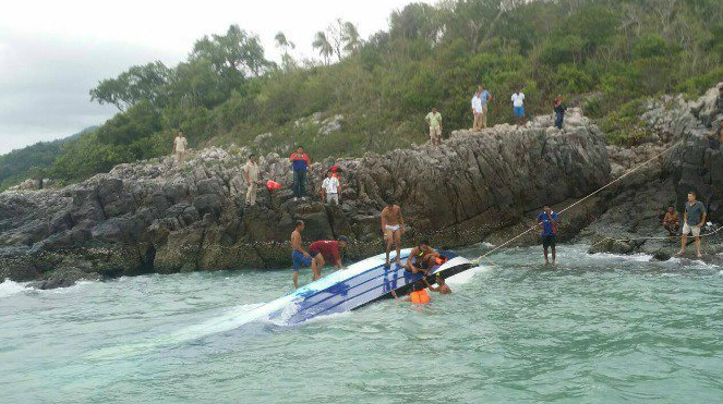 The speedboat had been carrying 32 tourists