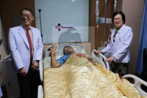 Atthaporn Boonmakchuay recovering in hospital after a python bit his penis