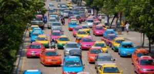 Taxis in Thailand
