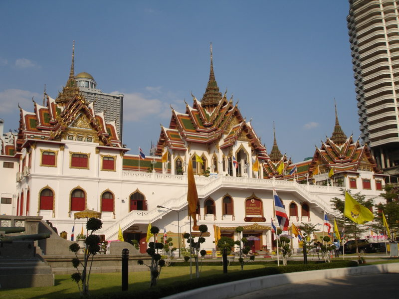 The large ornate building at the boat temple (Flick/dsin_travel)