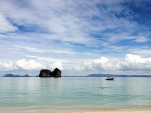 The view from a beach Koh Ngai, one of the islands that form the Trang Islands. (Picture: Björn Ognibeni)