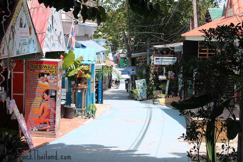 Walking street on Koh Lipe, Thailand