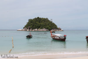 Swim or kayak to the island for snorkeling