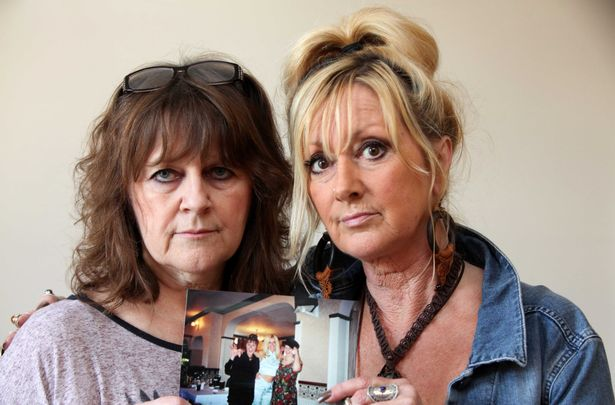 Kathryn's sister Elizabeth Phillips, left, said the family now face a £36,000 medical bill