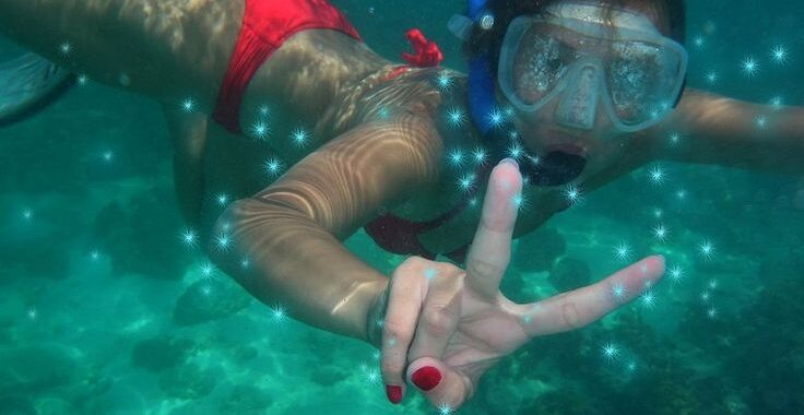 Sunset snorkeling tours on Koh Lipe include the chance to swim with glowing plankton