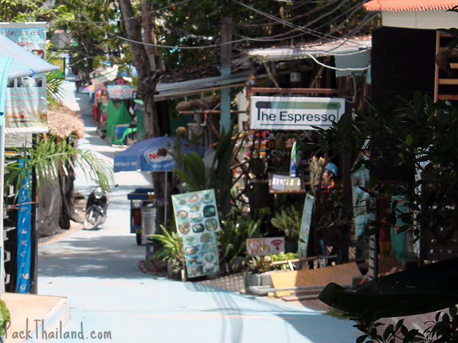 Koh Lipe Walking Street, The Espresso cafe and restaurant