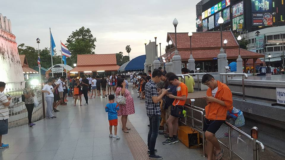 Pokemon Go in Thailand is popular
