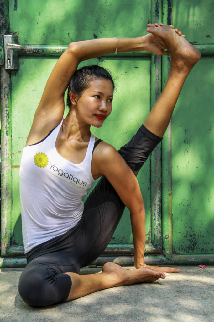 There are many great studios o do yoga in Bangkok
