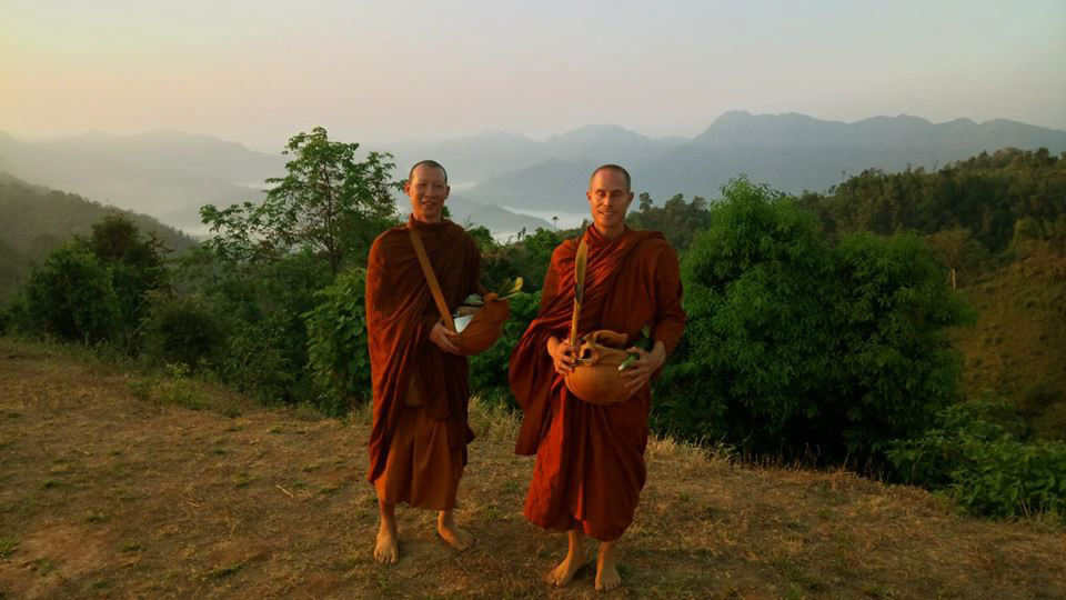 Phra Julian quit the rat race to become a monk