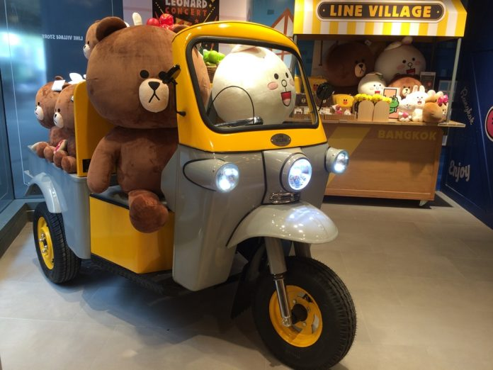 Line theme park to open in Bangkok