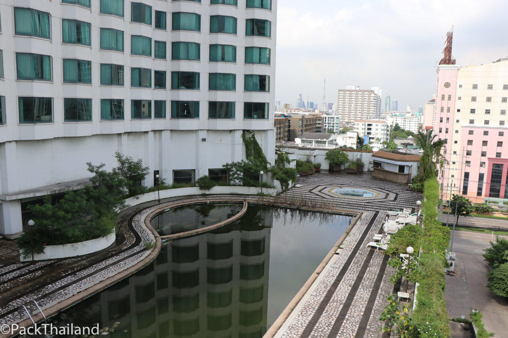 The Grand Ayudhaya hotel in Bangkok which has been abandoned and untouched since 2010